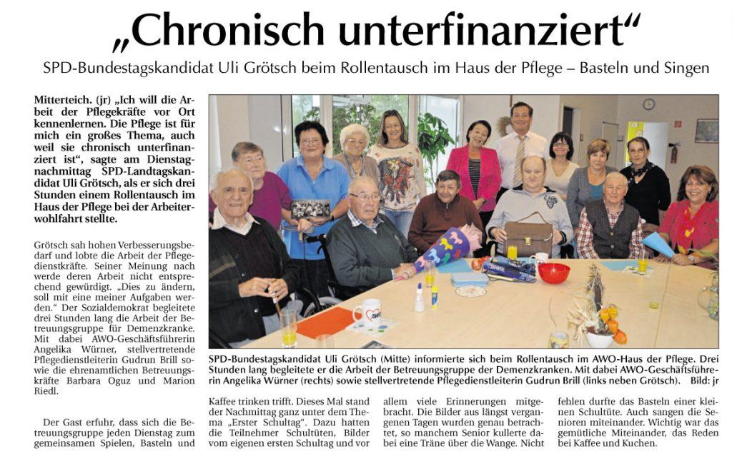 2013-09-20-Chronisch unterfinanziert