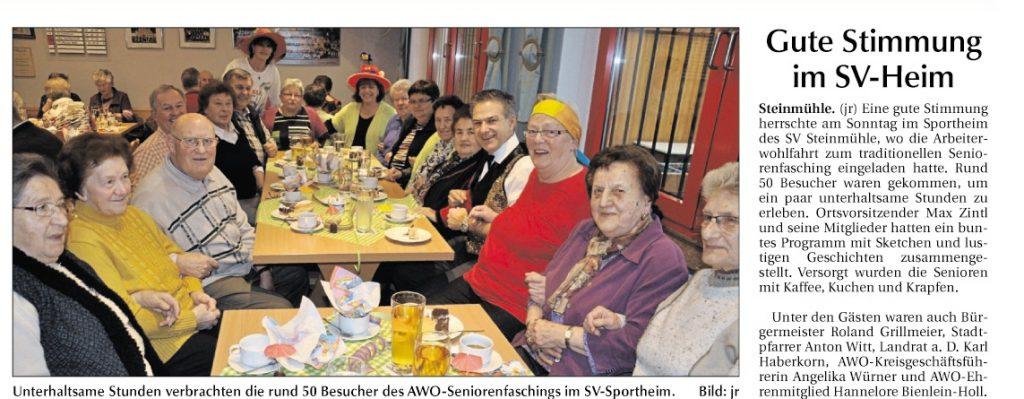 2014-01-22-Steinmühle Seniorenfasching