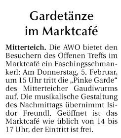 2015-02-04-Gardetänze im Marktcafé