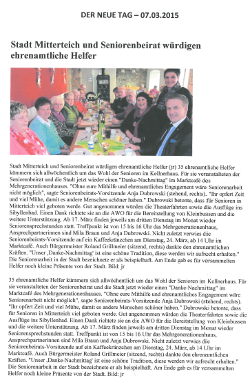 2015-03-07 Stadt Mitterteich und Seniorenbeirat würdigen ehrenamtliche Helfer png