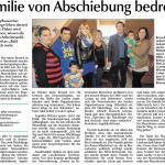 2015-03-18 Familie von Abschiebung bedroht