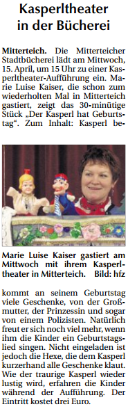 2015-04-14 Kasperltheater in der Bücherei