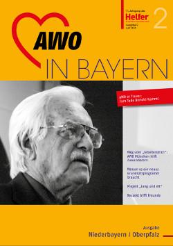 Ausgabe 02/2016 der Zeitschrift Helfer der AWO Niederbayern-Oberpfalz