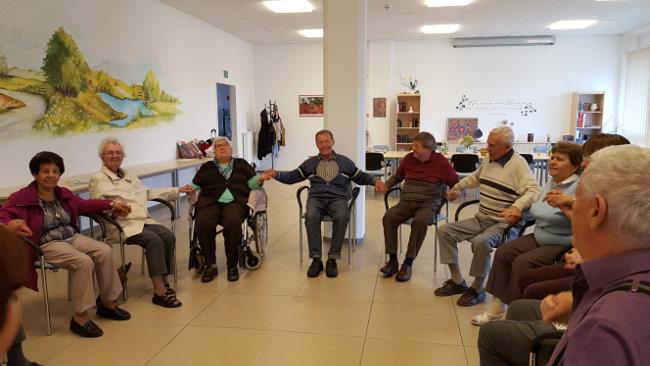 Betreuungsgruppe der AWO im Haus der Pflege
