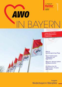 Zeitschrift der AWO in Bayern - Helfer 01/2017 für Niederbayern-Oberpfalz