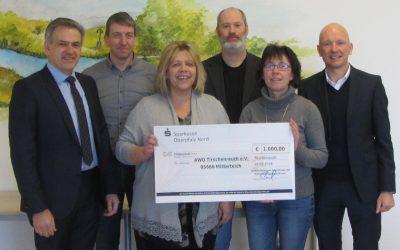 Kewog übergibt 1.000 Euro Spende für soziales Engagement