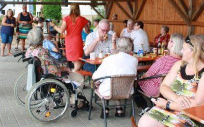 Sommerfest in der Seniorenresidenz