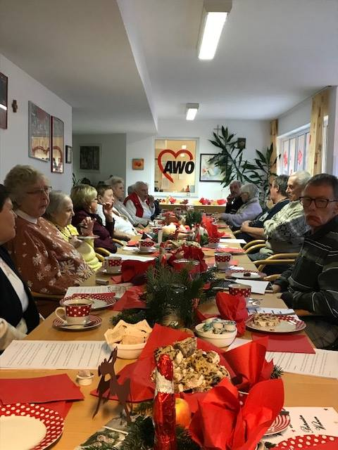 Weihnachtsfeier im Betreuten Wohnen Mitterteich