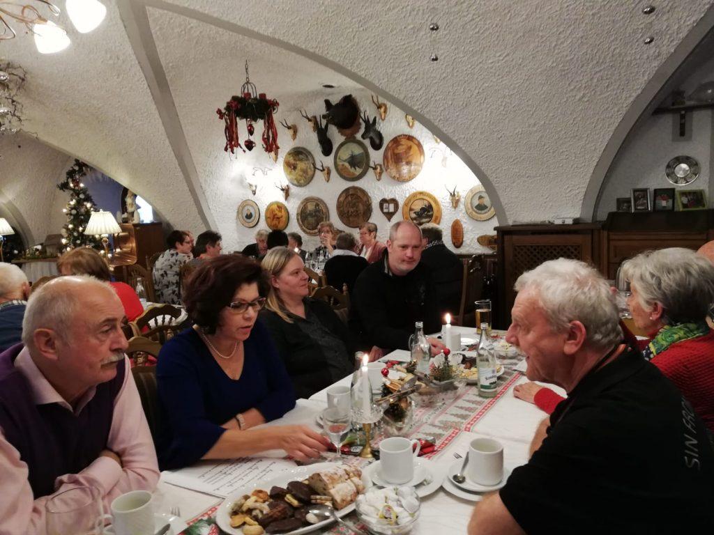 Weihnachtsfeier AWO Ortsverein Waldsassen am 22.12.2018