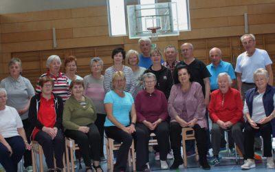 AWO-Seniorensport in Tirschenreuth feiert Doppel- Jubiläum