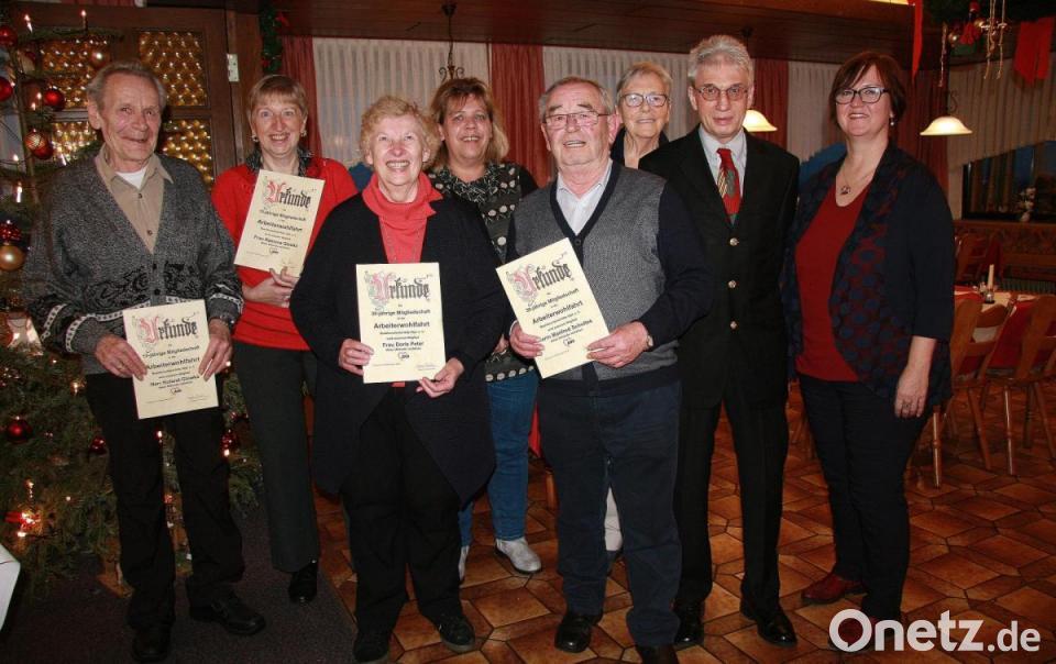 Arbeiterwohlfahrt dankt verdienten Mitgliedern