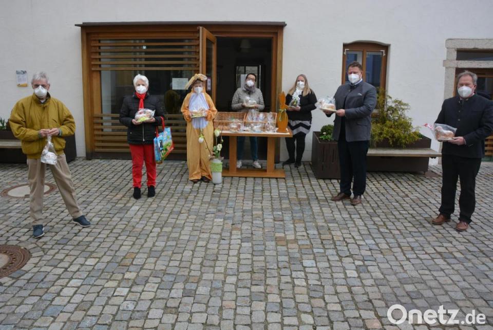 MGH-Team verkauft Osterlämmer