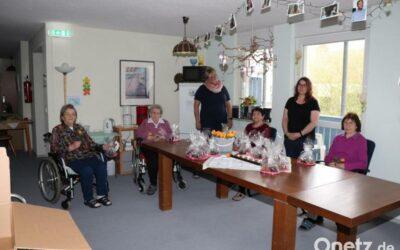 Kleine Kuchen in Herzform für Plößberger Senioren